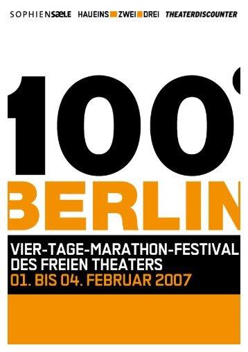 Programm 100° Berlin 2007.pdf - hebbel am ufer