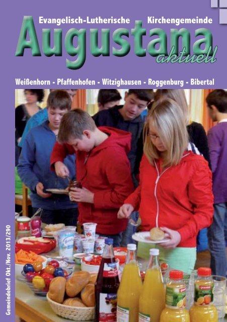 Gemeindebrief 290.pdf - Evang.-Luth. Kirchengemeinde Weißenhorn