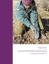 Control and Identification of Invasive Species - Grow Native