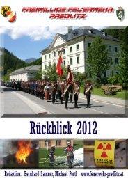 Bericht 2012 - Feuerwehr Predlitz
