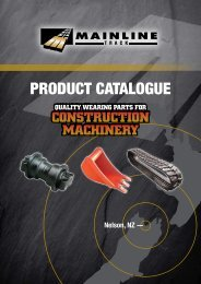 PRODUCT CATALOGUE - Mainline Track
