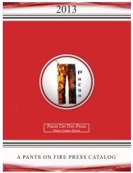 catalog - Pants On Fire Press