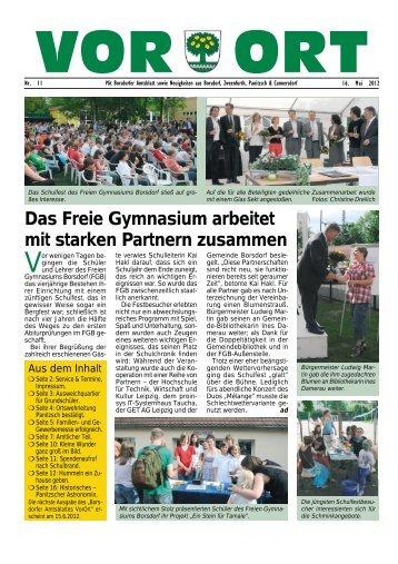 Das Freie Gymnasium arbeitet mit starken Partnern ... - T-Online