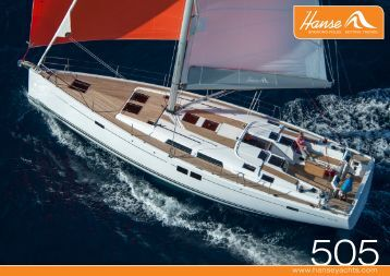 Hanse 505 Brochure - Hanse Yachts UK