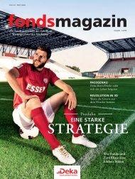 Ausgabe 4.2013 Wie Fonds und Zertifikate eine ... - fondsmagazin