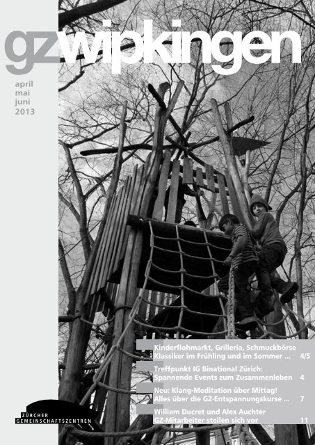 april mai juni 2013 - Quartierverein Wipkingen