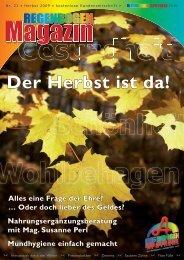 Der Herbst ist da! - Regenbogen Apotheke