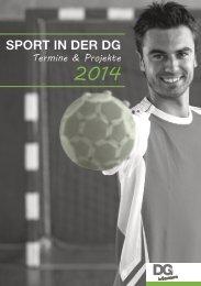 DG IN BEWEGUNG 2014 - DGSport