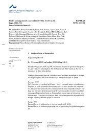 det naturvidenskabelige fakultet referat nfsu - Aarhus Universitet