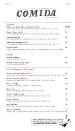 a la carte menu - Lucha Loco