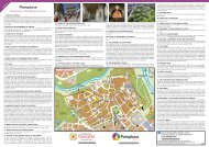 Pamplona Brochure and Map - On Foot in Spain