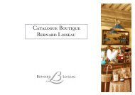 Catalogue Boutique Bernard Loiseau