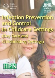 Infection Prevention and Control in Childcare Settings