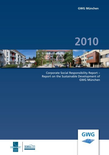 Corporate Social Responsibility Report – Report ... - GWG München