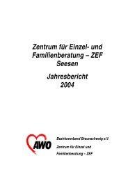 Das Jahr 2004 im Überblick - AWO Braunschweig