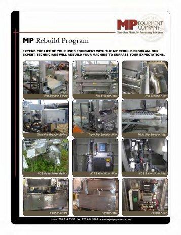 Rebuild Brochure, English