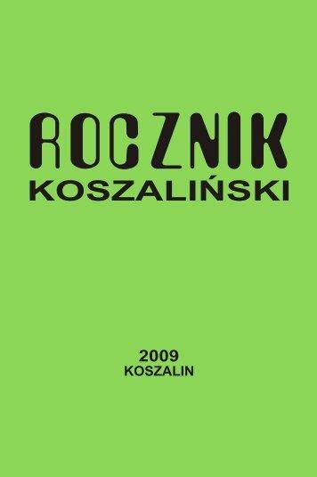 wersja pdf - Koszalińska Biblioteka Publiczna - Koszalin