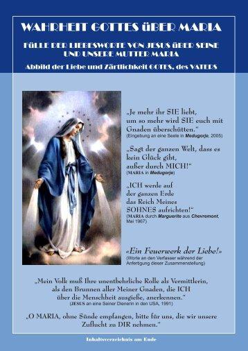 Worte Jesu durch Monsignore Otavio - Gottes Warnung