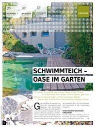 SCHWIMMTEICH – OASE IM GARTEN - Forster Gärtner von Eden