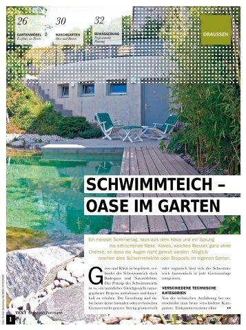 Potsdamer Gartengestaltung, schwimmteich-pflege - potsdamer garten gestaltung gmbh, Design ideen