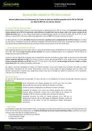 Numericable déploie la TNT HD en Alsace
