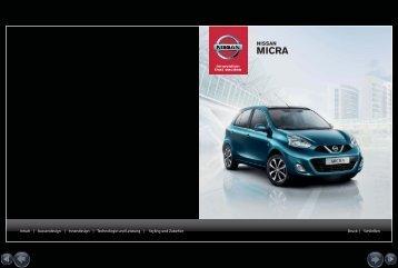 E-Broschüre inkl. Preisliste HERUNTERLADEN - Nissan