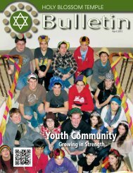 Youth Community - Holy Blossom Temple