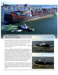 SOUNDINGS - Harley Marine Services, Inc.