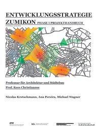 Projekthandbuch Phase1 V1 [PDF, 41.0 MB] - Gemeinde Zumikon