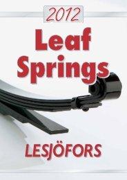 2012 Leaf Spring Catalogue - Lesjöfors Automotive