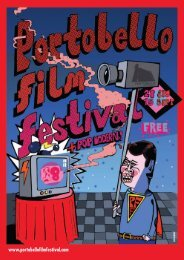 download full programme (PDF) - Portobello Film Festival