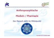 Anthroposophische Medizin / Pharmazie - 2mb - PharmXplorer