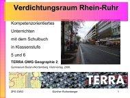 Verdichtungsraum - Lehrerfortbildungsserver Baden-Württemberg