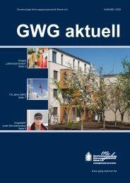 """Projekt """"Lebenszeich(n)en"""" Seite 5 Vorgestellt: unser - GWG Weimar"""
