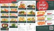 Hausgemachte Spezialitaten Fahrer gesucht! - hello sushi
