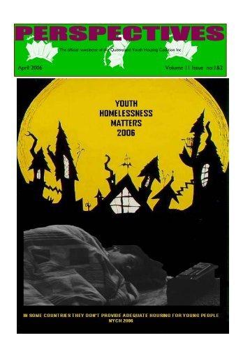April 2006 Vol 11 no 1and 2 web.pub - Queensland Youth Housing ...