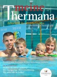 Wellness Magazine Zeitschrift des Wohlbefindens - Thermana Laško