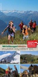 Aktiv Programm Bergsommer 2011 - Pension-dschulnigg.at