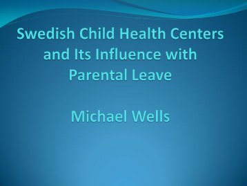 Child Health Centers and parental leave - WordPress – www ...