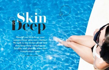 Should you switch up your summertime skin care routine? - Art of ...