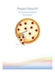 Project Pizza Pi! - aspiring2inspire