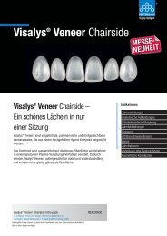 Visalys Veneer Chairside - Kettenbach GmbH & Co. KG