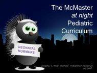 Approach to Neonatal Murmurs