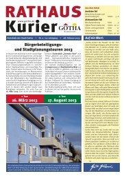 16. März 2013 17. August 2013 Bürgerbeteiligungs- und ...