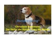 HundetrainingTeilneu - Christiane Ostermeier