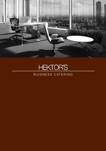 Business Catering Folder Download - Hektors.com