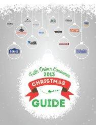 The Faith Driven Consumer 2013 Christmas Guide