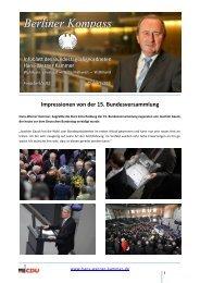 Berliner Kompass 6 2012 - Hans-Werner Kammer