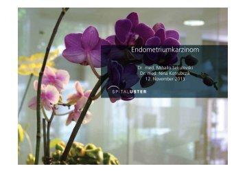 Endometriumkarzinom - Spital Uster