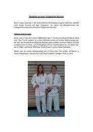 ist der dritte Artikel des Jahres 2011. - Judo in Leonberg